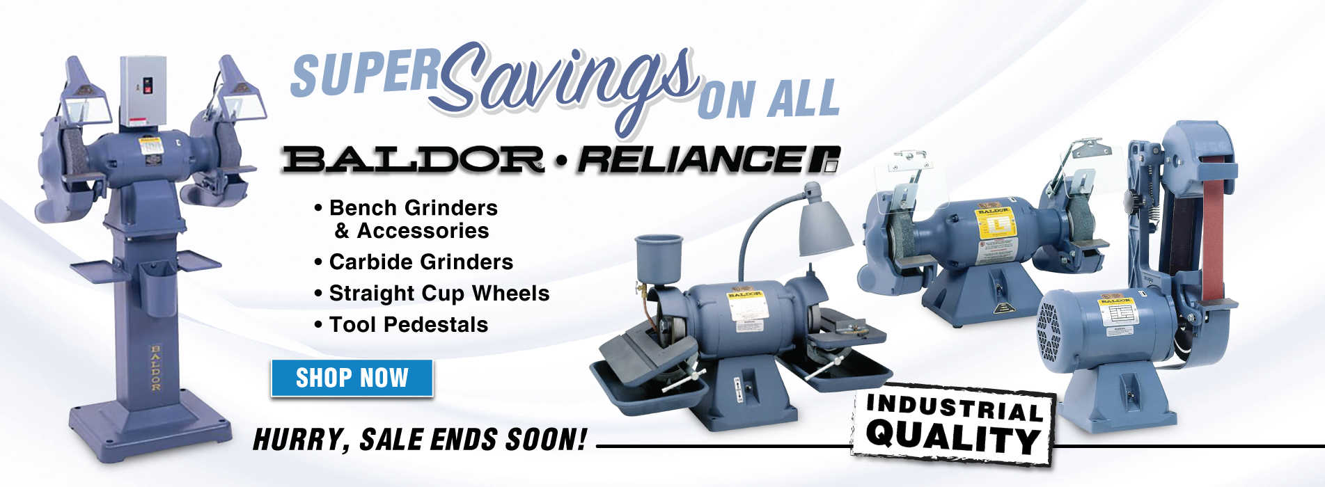 Save on Baldor products