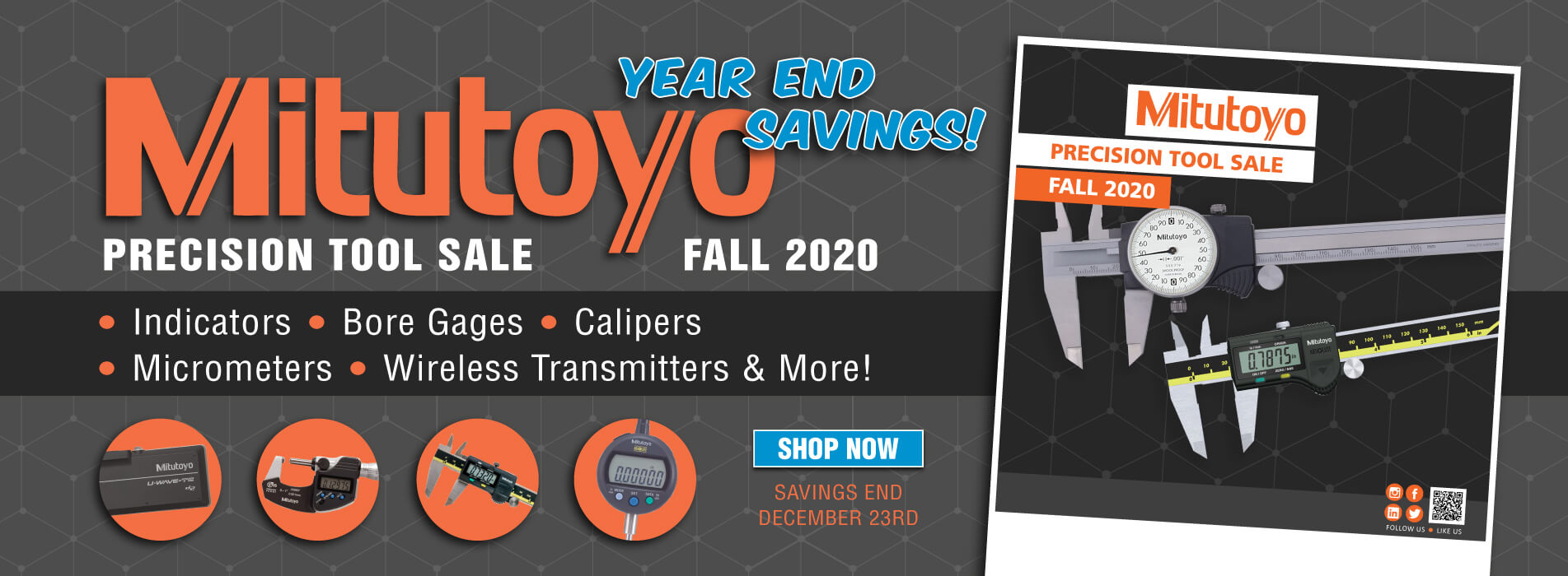 Mitutoyo Fall Sale! Don't Miss Out!