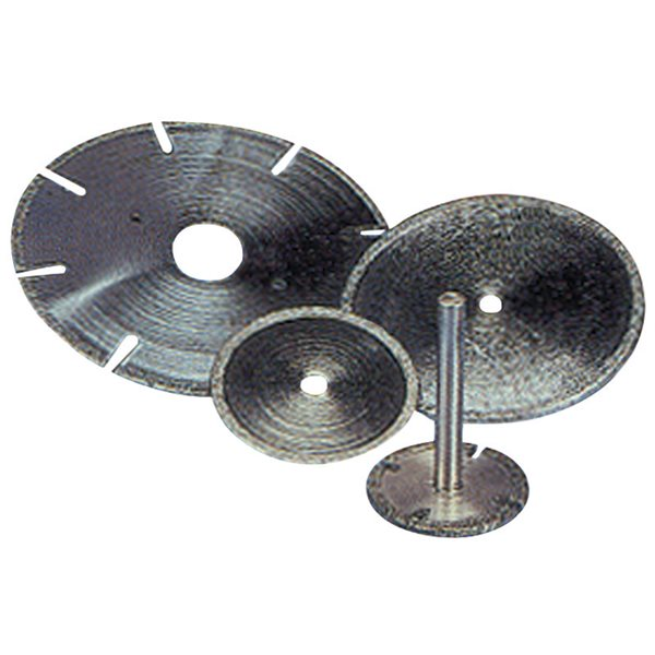 Norton Diamond Wheel 6 Diameter .035 Width 120 Grit General-Purpose Application 1A1R Diamond Wheel
