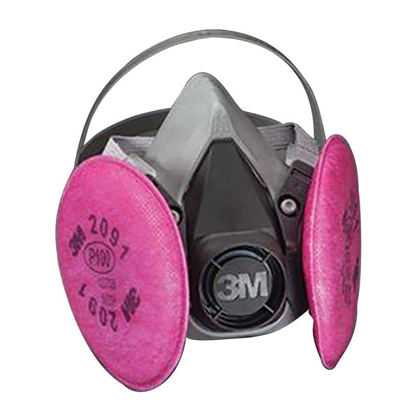 3m half mask respirator large
