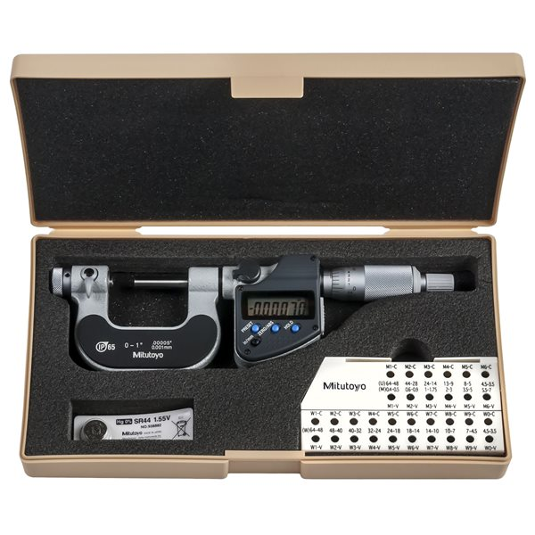 "SPECIAL PRICE BRAND NEW 2-3/"" SCREW THREAD MICROMETER"