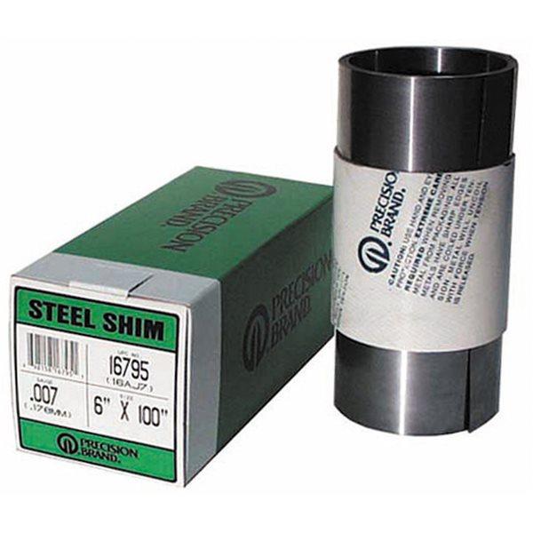 .004 Gauge Precision Brand Steel Shim A-4