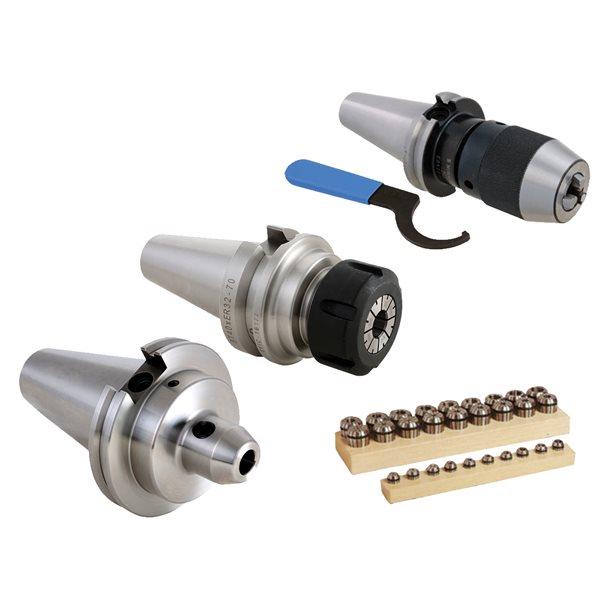 sthus CAT 40 3//8 x 3 4PCS Set End Mill Tool Holder Balanced G2.5 20000 RPM CAT40 USA