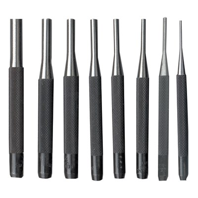 KBC 8PC 4IN. DRIVE PIN PUNCH SET