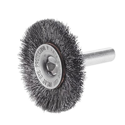 CGW 3IN CRIMPED WIRE WHEEL BRUSH W/1/4SH
