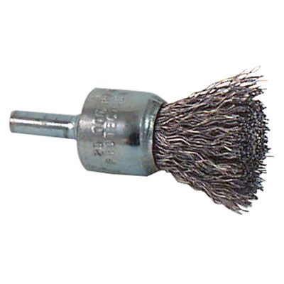 1IN .014 PFERD CRIMP STRAIGHT END BRUSH