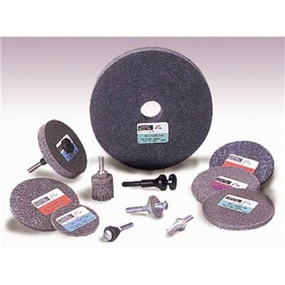 Standard Abrasives A//O Unitized Wheel 873133 731 3 in x 1//8 in x 1//4 in 10 per case