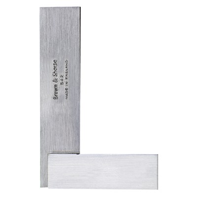 B&S  3.1/4IN. HARDENED STEEL SQUARE