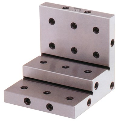 3X3X3 STEPPED ANGLE PLATE 1/4-20 THREAD