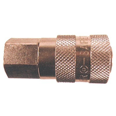 COILHOSE 1/4 MPT SAFETY EXHAUST COUPLER