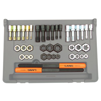 LANG 40PC THREAD RESTOPER KIT