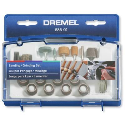 DREMEL 686 SANDING/GRIND SET 626