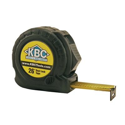 KBC 1IN X 26FT DUAL LOCK TAPE MEASURE