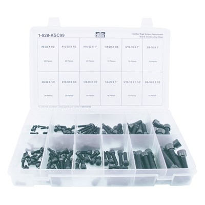 KSC99 SOCKET CAPSCREW ASSORTMENT
