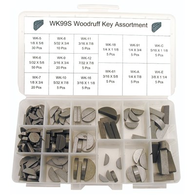 WOODRUFF KEY FASTENER KIT