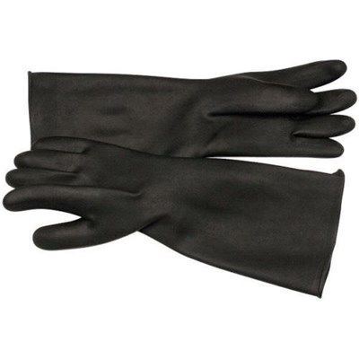 CYCLONE 24IN. RUBBER UNLINED GLOVES