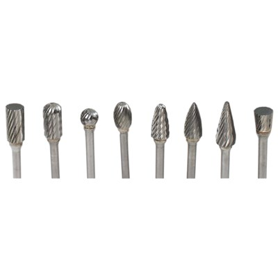 SET NO. 4 MA FORD CARBIDE BURS