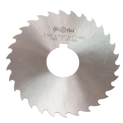 "3//32/"" Thick x 2/"" Diameter x 1//2/"" Arbor Hole 28 Teeth HSS Plain Slitting Saw"