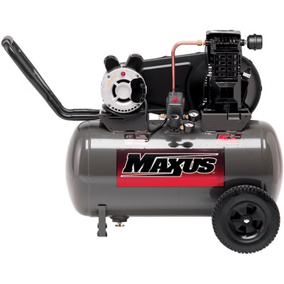 MAXUS 20 GALLON CAST IRON AIR COMPRESSOR
