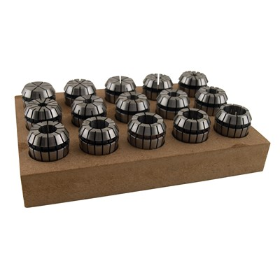 KBC 15PC ER-25 COLLET SET