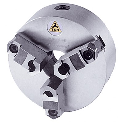TOS 6IN. D1-3 3JAW LATHE CHUCK REV JAWS
