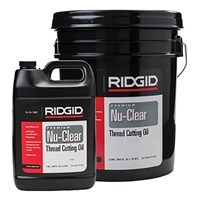 RIDGID NU-CLEAR THREAD CUTTING OIL 5 GAL